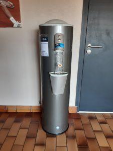 Installation d'une fontaine à eau